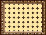 Historyczne wzory popdłóg Wzory i układy na zabytkowych posadzkach wykonane przy użyciu barwionych płytek kamionkowych, dekorów i płytek cokołowych